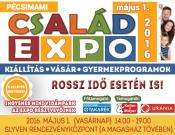 Pécsimami Család Expo ingyenes mini vidámparkkal a Szliven Rendezvényközpontban