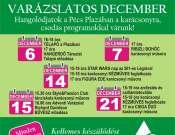 Varázslatos december - Ribizli bohóc előadása a Pécs Plazában!