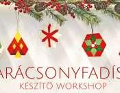 Karácsonyfadísz készítő workshop