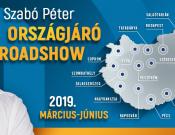 Országjáró Roadshow Szabó Péterrel!
