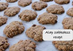 Alap zabkeksz és muffin recept