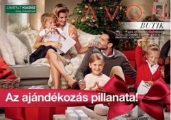 Láttad már a karácsonyi Avon Katalógust?
