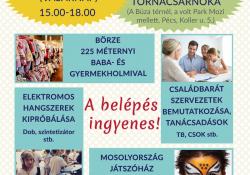 Börze és Családi Nap a Pécsimamival a Széchenyi István Gimnázium tornacsarnokában
