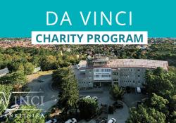 Da Vinci Charity program a CoVid járvány alatt szociálisan hátrányos helyzetű betegek megsegítésére