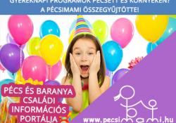 Gyereknapi programok 2016: a Pécsimami összegyűjtötte!