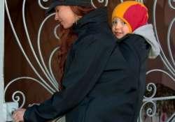 Hordozós kabátok háti- ill elől hordozásra