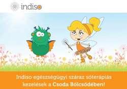 Indiso egészségügyi száraz sóterápiás kezelések már a Csoda Bölcsiben is!