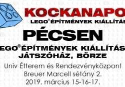 Kockanapok Kiállítás és Játszóház Pécsen