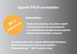 Póló nyomtatás a Kreatv Nyomdában