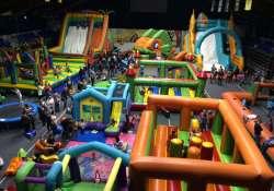 Légvárvilág Játszóház a Nevelési Központ Sportcsarnokában