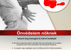 """""""Hiánypótló női önvédelmi program."""" a Bushinkan Harcművészeti Központban Pécsen"""