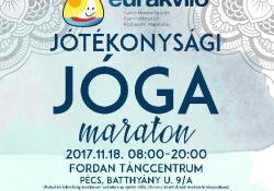Gyere és próbálj ki különböző jógairányzatokat a Pécsi Fordan Tánccentrumban, és segítsd a beteg gyerekeket és családjaikat!