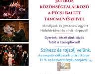 Meséljünk és játsszunk együtt Hófehérkével és a hét törpével! Játékos közönségtalálkozó a Pécsi Balett táncművészeivel.
