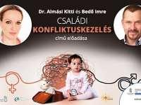 Családi konfliktuskezelés – Almási Kitti és Bedő Imre előadása a Pécsi Kulturális Központban