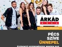 Pécs szíve ünnepel – 15 éves az ÁRKÁD Pécs
