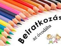 Óvodai beíratás a 2021/2022-es nevelési évre