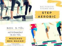 STEP AEROBIC a Belvárosiban november 5-től!