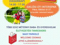 Börze a Pécsimamival a Siklósi úti Intersparban