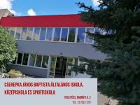 Cserepka János Baptista Általános Iskola, Középiskola és Sportiskola