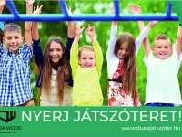 Nyerj egy közel 300.000 Forint értékű játszóteret otthonra!