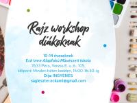 Rajz workshop a Pécsi Kulturális Központban