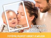 Keressük az Évbabáját! - Fotópályázatot Hirdet a Weleda