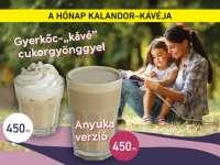 """Gyerkőc""""kávé"""" és Anyuka verzió10% kedvezménnyel A Cafe Freiben"""