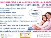 Információs nap a gyermekvállalásról