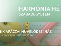 Harmónia Hétvége szabadegyetem a PKK Apáczai Művelődési Házban