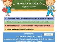 Iskolanyitogató a Pécsi Belvárosi Általános Iskolában