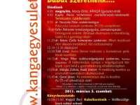 Kanga-Napok - 2011. március 4-5