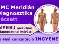 Nyerj EMC Meridián Diagnosztikai mérést
