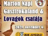 Márton Napi Gasztrokaland & Lovagok csatája a Bikali Élménybirtokon
