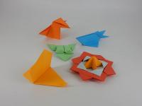 Pécsi Origami Kör foglalkozása a Belvárosi Közösségi Térben