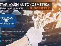 Autótisztítás, autószerviz?  Star Wash Autókozmetika!