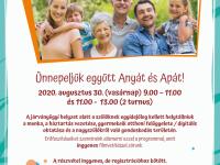 Ünnepeljük együtt Anyát és Apát! - Szülők napja a Pécsi CsakPONT szervezésében