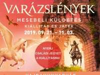 Varázslények – Mesebeli küldetés  Kiállítás és játék