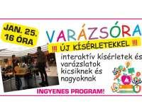 Varázsóra a Pécs Plazában - új kísérletekkel!
