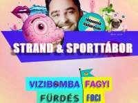 Strand - és sporttábor Zsombi Bácsival
